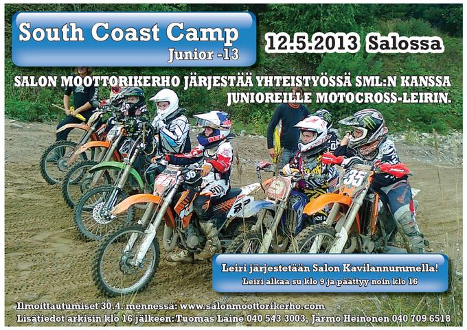South Coast Camp 2013